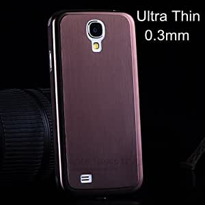 ModernGut 1pcs Ultrathin 0.3 mm Aluminum Case for Samsung Galaxy S4 i9500 Brushed Metal Case for S4 Titanium Alloy Back Cover
