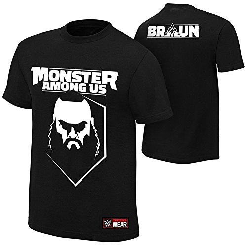 braun strowman monster among us authentic t shirt l. Black Bedroom Furniture Sets. Home Design Ideas