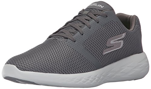 Uomo Run 600 Scarpe Go Grigio Indoor Charcoal Sportive Refine Skechers S041xwqF