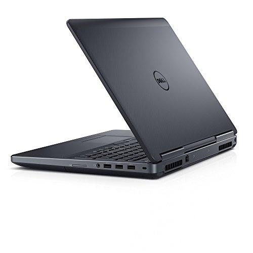 Dell Precision M7520 Intel Core i7-7700HQ X4 2.8GHz 32GB 512GB SSD, Black (Renewed)
