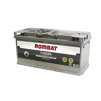 Bater/ía para Coche Tundra EFB TEFB6110 12V 110Ah 950A Rombat