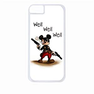 Well Well Well- Hard White Plastic Snap - On Case-Apple Iphone 4 - 4s - Great Quality!