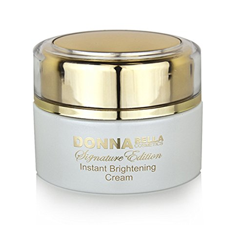 Donna Bella Cosmetics Caviar Signature Instant Brightening Cream + Serum + Oxygen Treatment Set - Reduce the Appearance of Age Spots, Freckles and Discoloration and Illuminates and Brightens the Skin