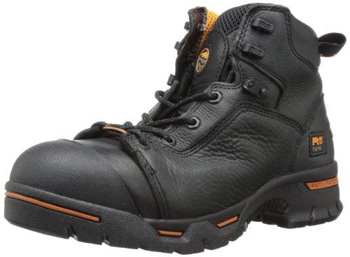 Timberland Mens Pro Resistenza Alla Perforazione Resistente Impermeabile In Acciaio-toe 6 Stivali Da Lavoro Nero