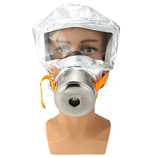 Fire Mask Emergency Escape Mask Smoke Gas Mask Self-life-saving Respirator for Home Hotel Shop Market - Safety & Protective Gear Masks -1 x FIRE ACTION Sign Sticker by Unknown (Image #3)