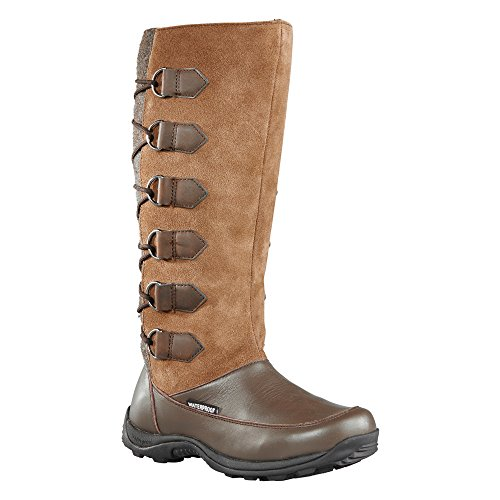 Baffin Women's Chamonix Snow Boot, Taupe, 10 M US