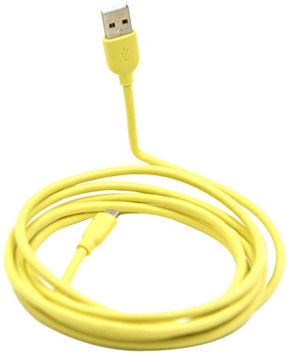 - USB A to Micro B Colored  Phone Charging Cable 6FT-TPE jacket-Yellow
