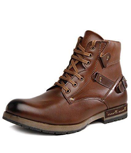 cfc8cff7a42 Bacca Bucci Men TAN PU Boots: Buy Online at Low Prices in India ...