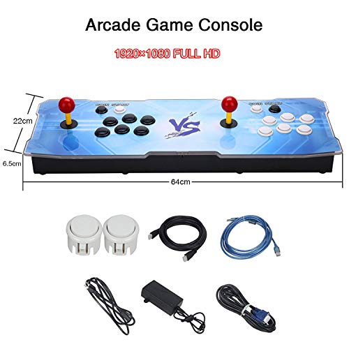 3D Pandora Key Retro Arcade Video Game Console | No Games Pre-loaded | Full HD (1920x1080) Video | 2 Player Game Controls | Support 4 Players | Add More Games | HDMI/VGA/USB/AUX Audio Output by HAAMIIQII (Image #5)