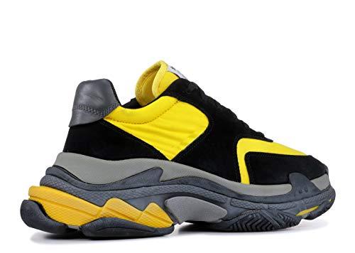 2 Fitness 0 Basketball Unisexe Gymnastique De Jaune S Baskets Triple Noir Adult Shoes Chaussures xXanxfwd