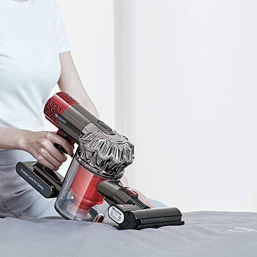 Proscenic P9 GTS Aspirateur Balai sans Fil et sans Sac, 16000PA Multifonction Aspirateur Puissant,Silencieux et Ultraléger,Chargeur Mural