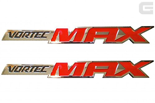 Pair of 06-10 OEM New Chevy Silverado Vortec MAX High Output Emblems (Engine Crate Sealed)
