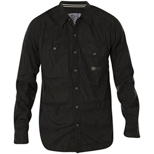 Affliction Black In Black Long Sleeve Shirt for sale