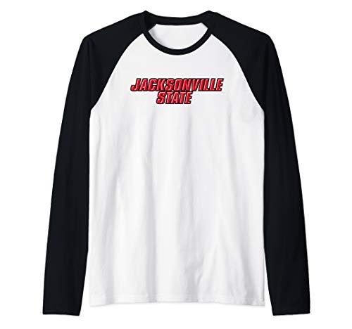Jacksonville State University Gamecocks NCAA PPJVSU04 Raglan Baseball Tee