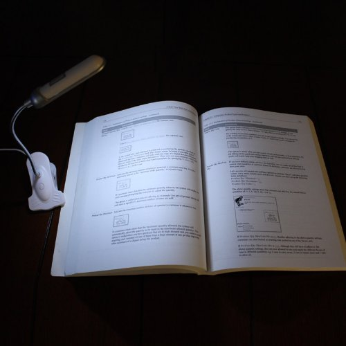 Flex-Neck Clip-On LED Laptop Lamp Light by ENHANCE - Works With Dell XPS 13 , Google Chromebook Pixel , HP Spectre x360 and More Laptop Computers by ENHANCE (Image #4)