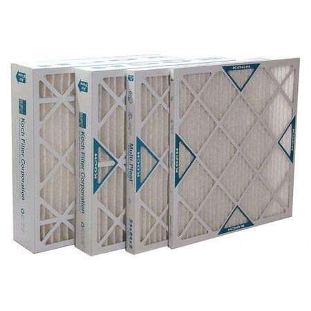 High Capacity Pleated Air Filter, 20″x25″x1″, MERV 13, Min. Qty 12, (Pack of 12)