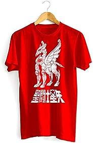 CAMISETAS Camiseta Cavaleiros do Zodíaco Armadura de Pégasus Cavaleiros do Zodiaco adulto-unissex