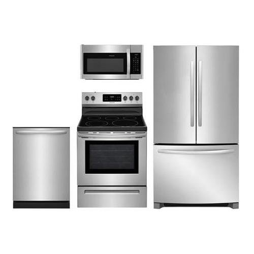 - Frigidaire Frigidaire 4-Piece Stainless Steel Kitchen Package With FFHG2250TS 30