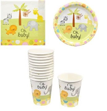 Baby Shower Paper Products - Baby Shower Paper Plates, Cups and