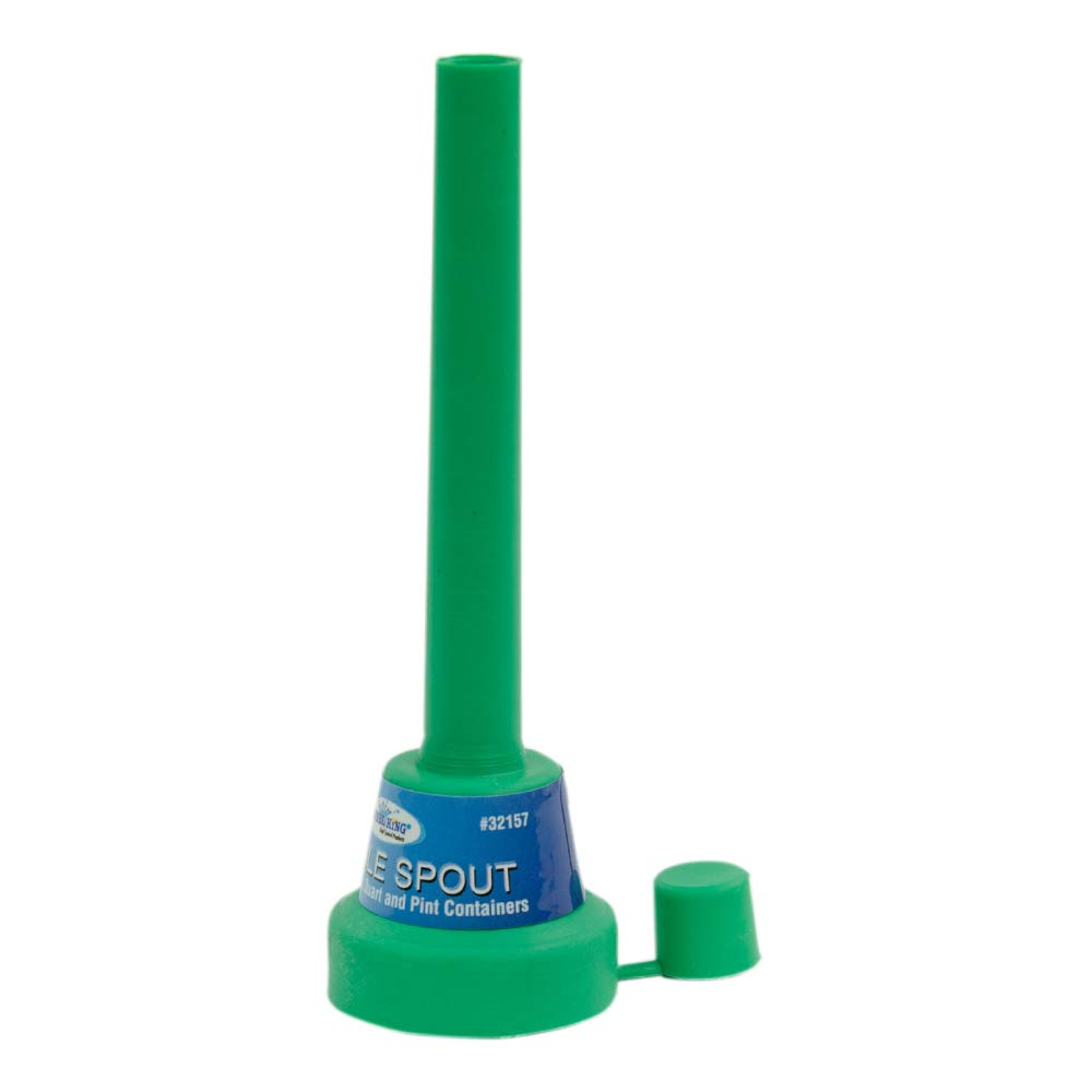 5Inch Green Flexible Spout Funnel compatible Cap