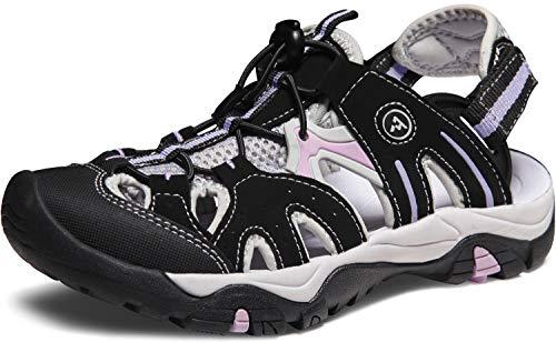 ATIKA AT-W221-KLD_Women 11 B(F) Women's Sport Sandals Trail Outdoor Water Shoes 3Layer Toecap Rocky 2 W221