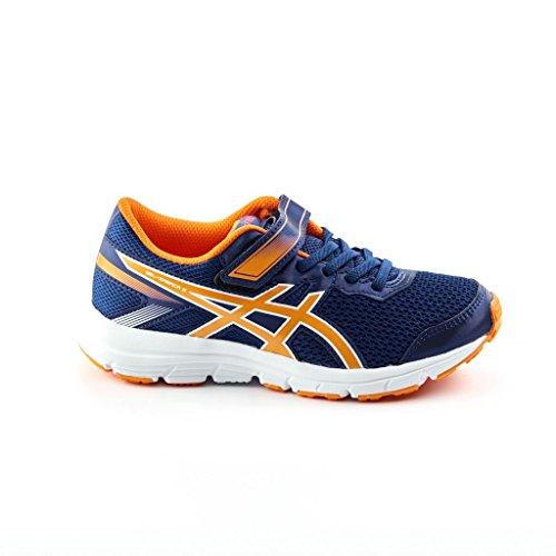 Asics Gel-Zaraca 5 Ps, Zapatillas de Gimnasia Unisex Niños Azul