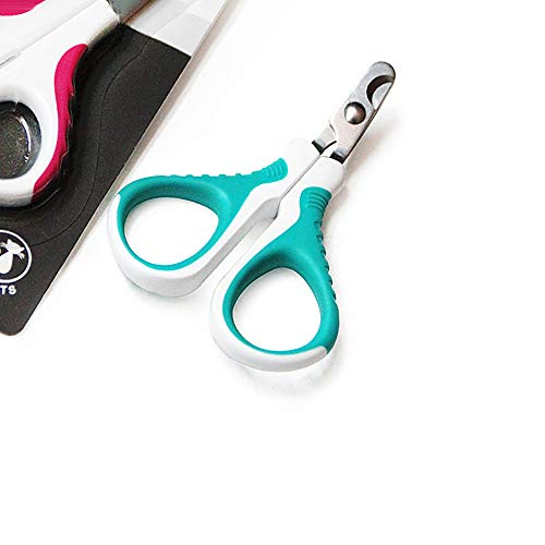 Upgraded Pet Nail Clippers and Trimmer - Professional Pet Nail Clippers and Claw Trimmer for Cats