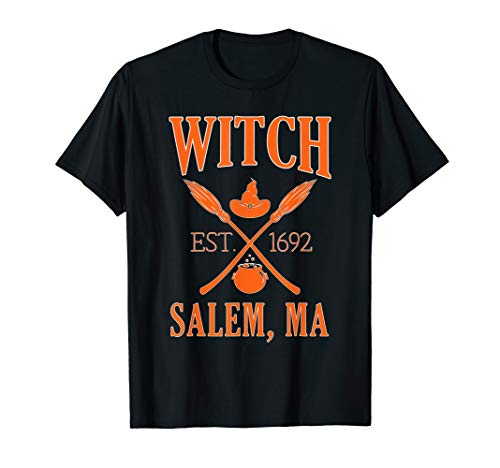 Funny Halloween Witch Salem Long Sleeve Tshirt -