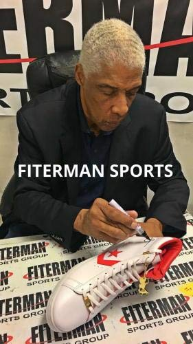 "Julius""Dr. J"" Erving Signed Autographed The Scoop Shoe 2018 Release WPP126820 Autographed NBA Sneakers"