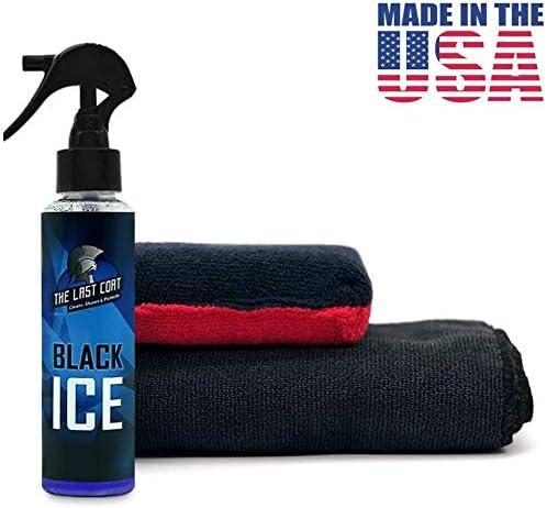 The Last Coat Black Ice Car Wax Spray for Polish and Shine