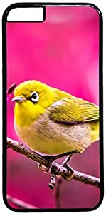 Cute Yellow Bird Retro Vintage Design iPhone 6 (4.7 inch) Hard Shell Case Cover by iCustomonline