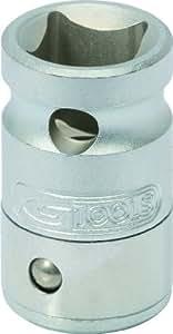 KS Tools 911.4311 - Llave de vaso con adaptador para puntas Bit de 10 mm (1 cm)