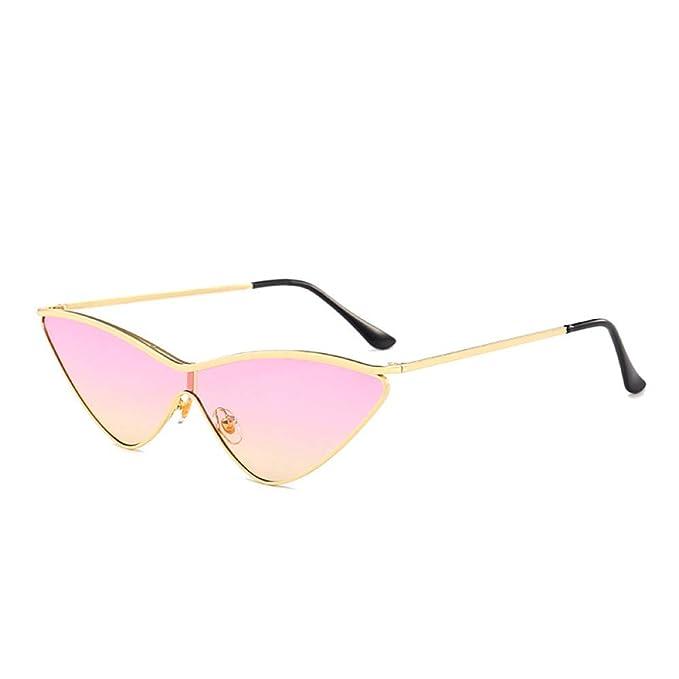Yangjing-hl Gafas de Sol Triangulares de Ojo de Gato Gafas ...