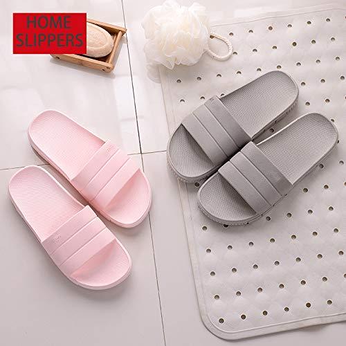 LINE BLUE Unisex Slipper Casual Anti-Slip Bath Indoor Floor Slipper Sandal Bath Anti-Slip Slipper B075ZY1QG6 Slippers 457466