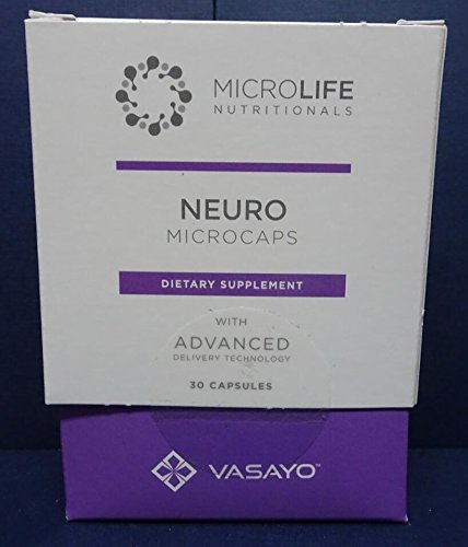 Vasayo MicroLife NEURO Brain Natural Dietary Supplements Liposomes, 30 Capsules