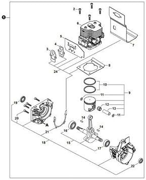 Engines & Engine Parts CS440 Shindaiwa SB1082 Short Block Echo ...