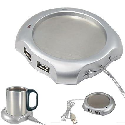SODIAL(R) Cafe / Te / taza / taza Warmer Oficina Pad Calentador Home