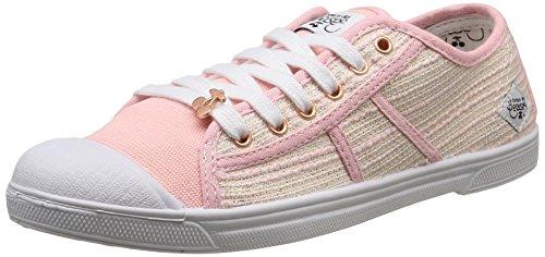 Le Temps des CerisesLtc Basic 02 - Zapatillas de deporte, Mujer Rosa - Rose (Twinkle Pink)
