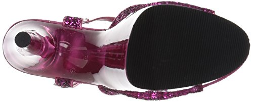 Pleaser Pink ADORE Tinted Glitter H 710GT Pink wgF6Hq