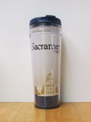Starbucks Coffee Sacramento Plastic No Spill Coffee Travel Tumbler, 12 Oz by Starbucks