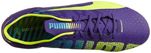 Puma Evospeed 1.3 Fg, Scarpe Da Calcio da uomo Violet (Prismviolet/Yellow/Blue)