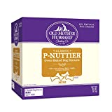 Old Mother Hubbard Classic Crunchy Natural Dog Treats, P-Nuttier Mini Biscuits, 20-Pound Box Larger Image