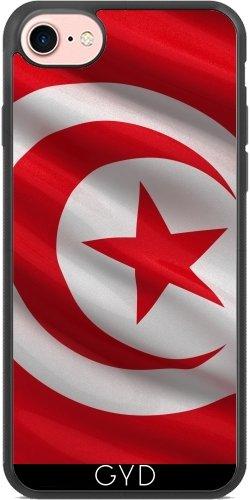 Coque Silicone pour Iphone 7 / Iphone 8 - Drapeau De La Tunisie by Carsten Reisinger