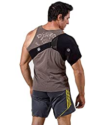 Shoulder Ice/Heat Wrap For Shoulder Injuries - Provides Firm Compression To The Left & Right Shoulder. Built With Adjustable Straps. Allows Mobility While Being Applied. BAWSH10 By ActiveWrap