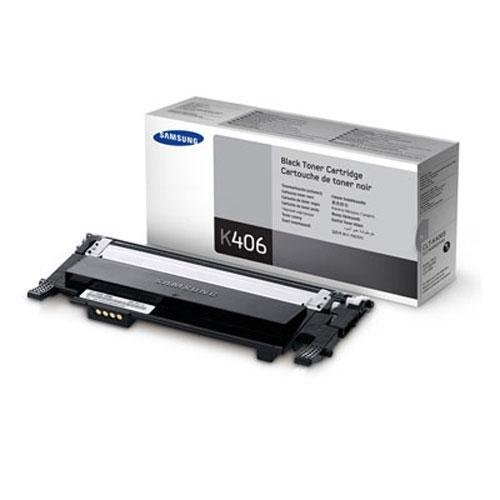1 New Remanufactured CLT-K406S Samsung CLP-365 Black Toner Cartridge, Office Central
