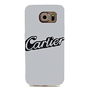 Cartier Logo Phone Case Creative Style 3D Cover Case for Samsung Galaxy S6 Edge Luxury Cartier Logo