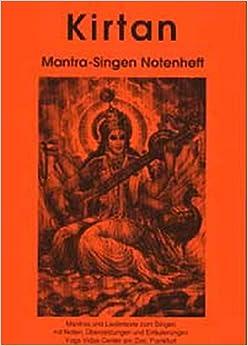 Kirtan Mantra-Singen A4 Notenheft: Mantras und Liedertexte