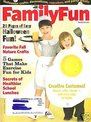 family fun magazine october 2007 family fun magazine jonathan adolph amazoncom books - Family Fun Magazine Halloween Crafts