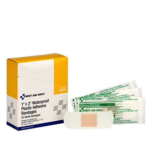 PhysiciansCare by First Aid Only 90333 First Aid Sterile Waterproof Bandage, 3