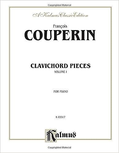 Clavichord Pieces Vol 1